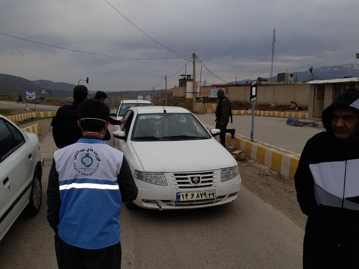 خبرنگاران ورود غیربومی ها به ثلاث باباجانی ممنوع شد