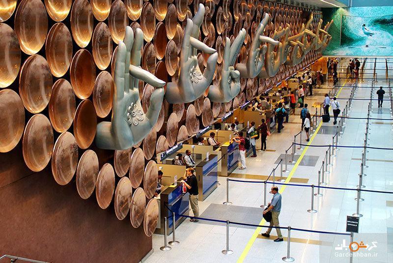 فرودگاه بین المللی ایندیرا گاندی در دهلی، تصاویر