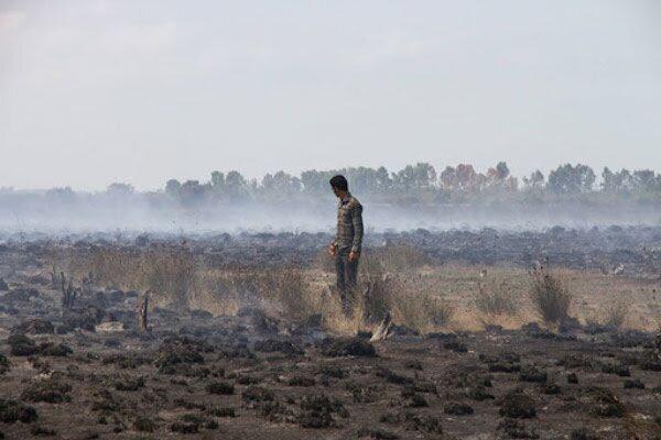 افزایش 30 درصدی آتش سوزی در مراتع و عرصه های کشاورزی